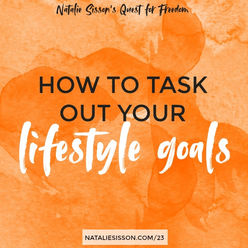 How to Task Out Your Lifestyle Goals
