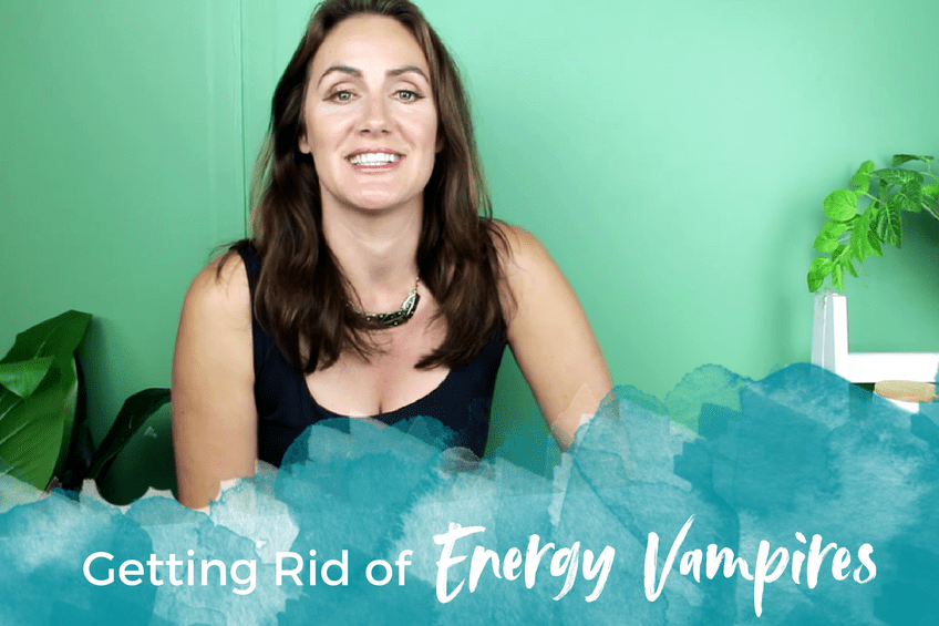 Getting Rid of Energy Vampires