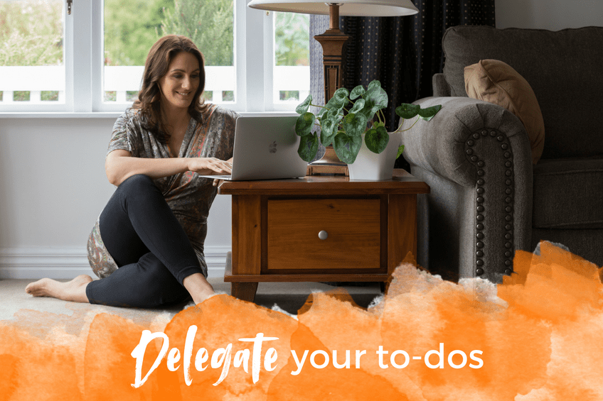 Delegate your to-dos