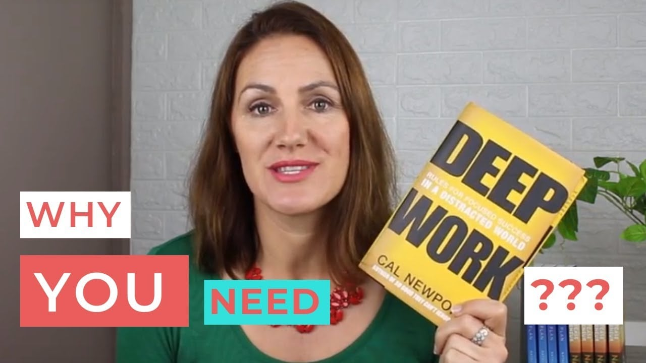 "Book Review: ""Deep Work: Rules for Focused Success in a Distracted World"" by Cal Newport"