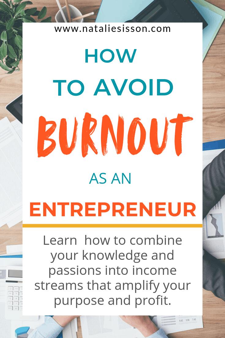 Avoid Burnout as an Entrepreneur