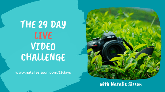 My 29 Day Live Video Challenge in 2020
