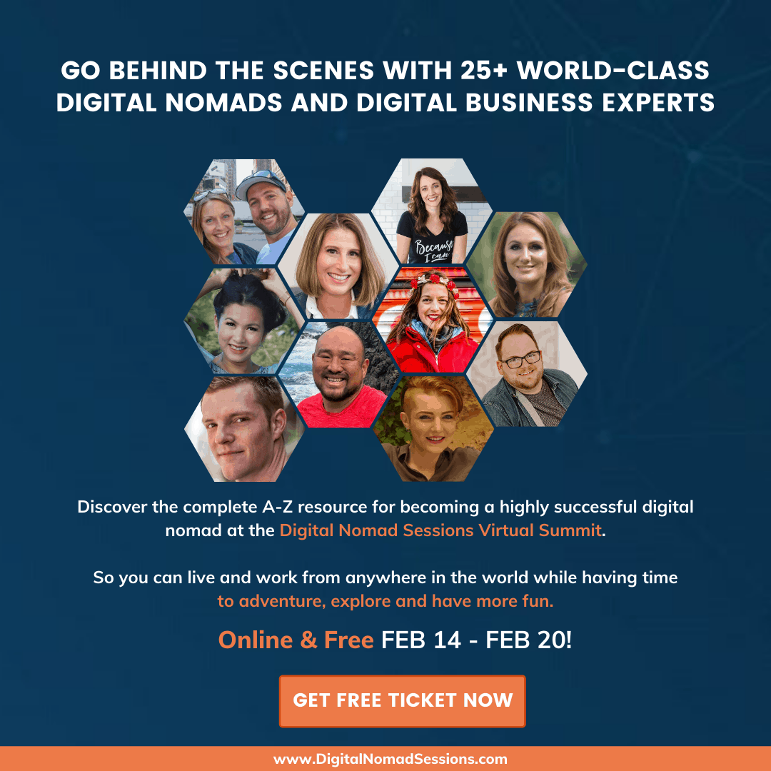 Register for Digital Nomad Sessions