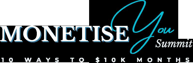 Monetise You Summit Logo Blue