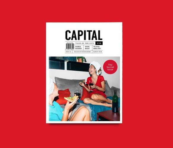 Capital Magazine Cover