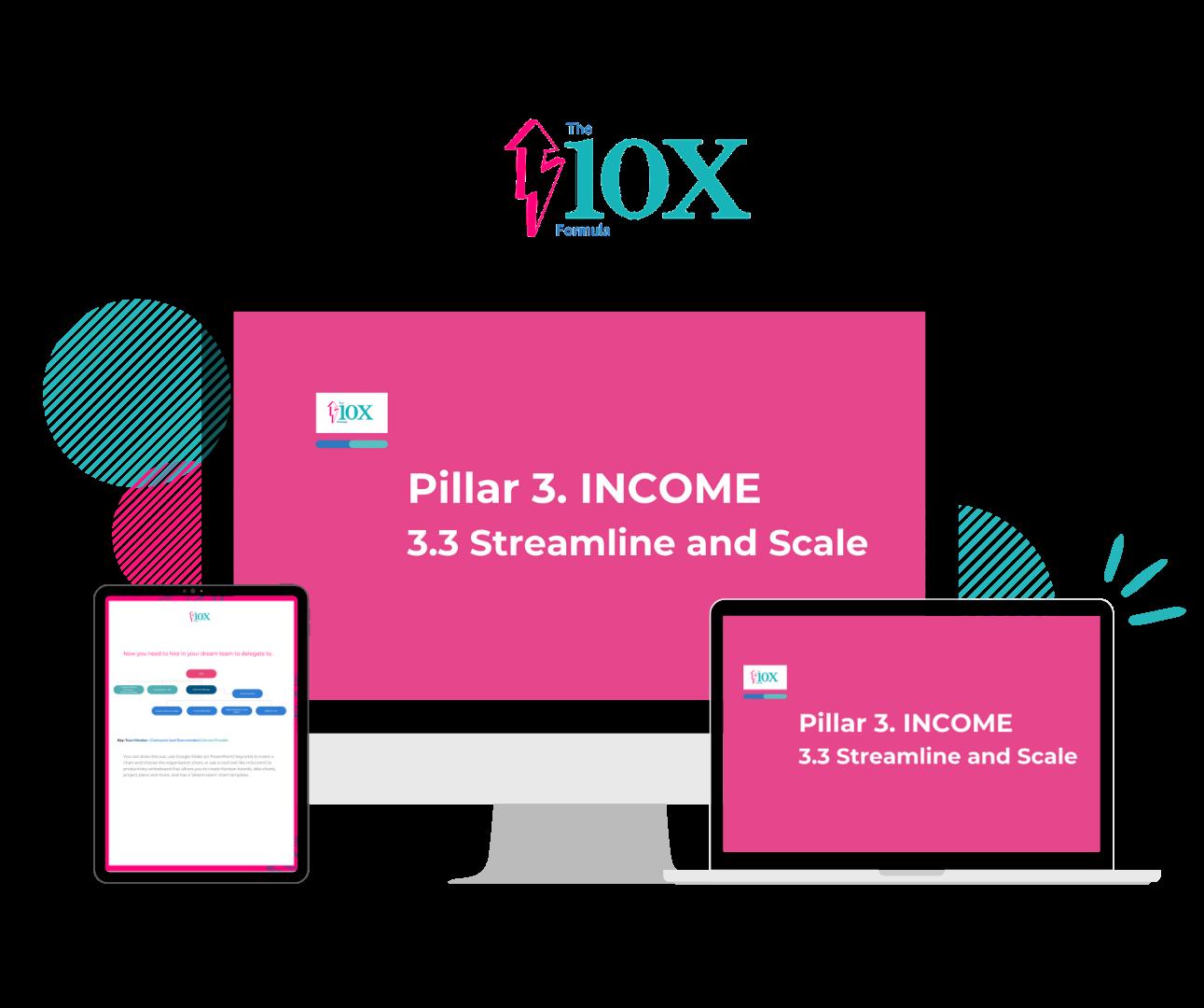 3 INCOME 3.3 Mockup