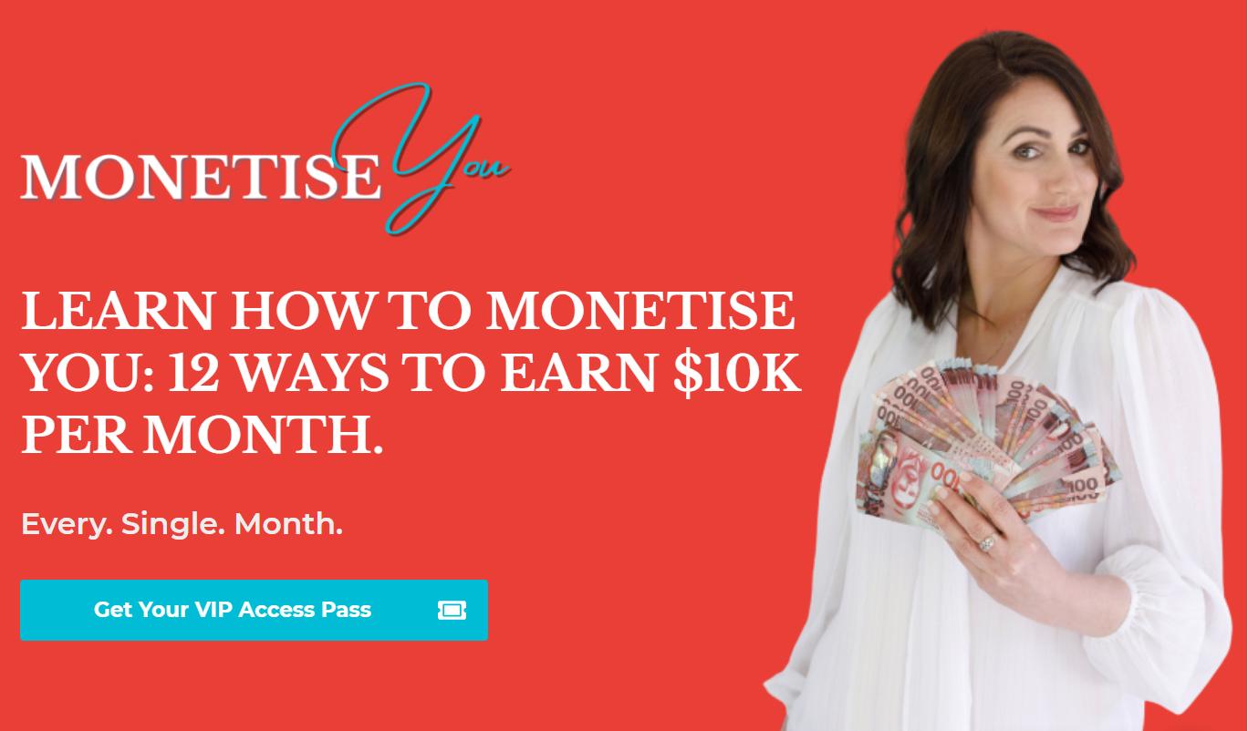 Monetise You
