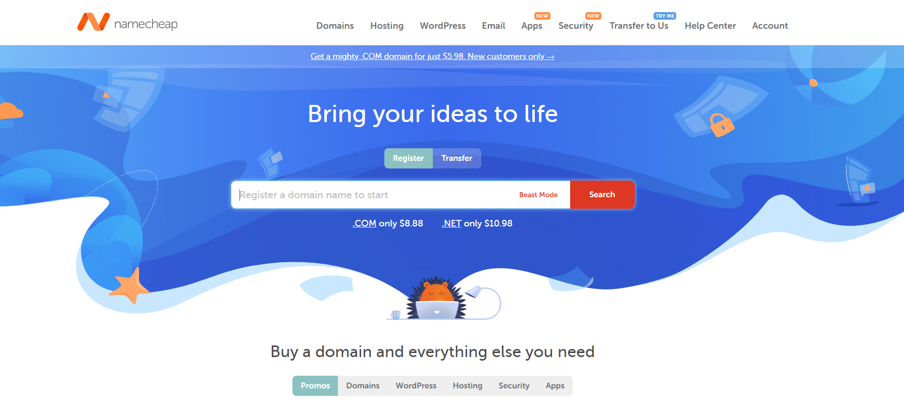 Namecheap - Buy your domain and everything else