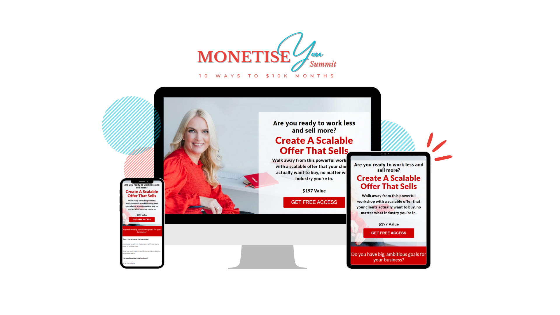 Create a Scalable Offer That Sells - Valued at $197 by Sigrun