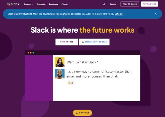 Slack - Communication Tool