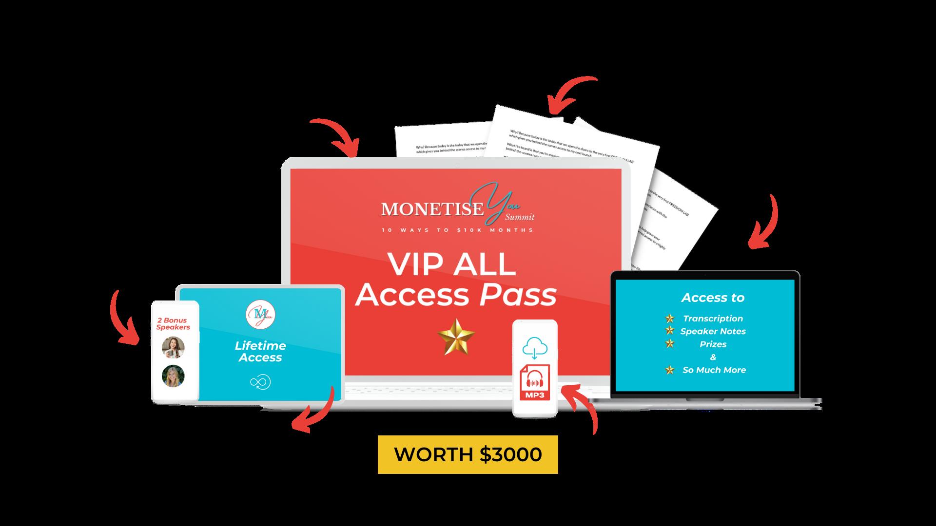 All VIP Access Pass