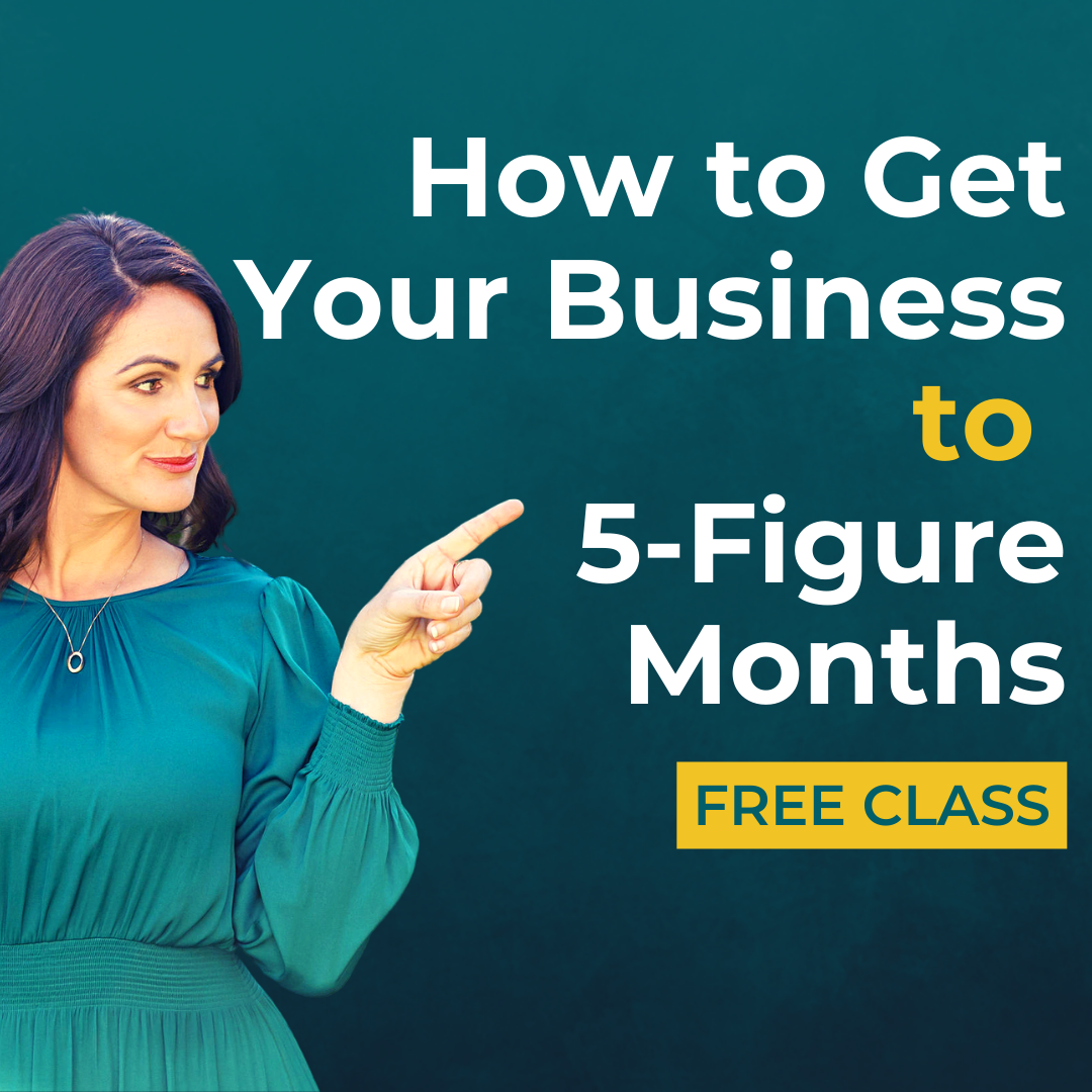How to get your business to 5 figure months